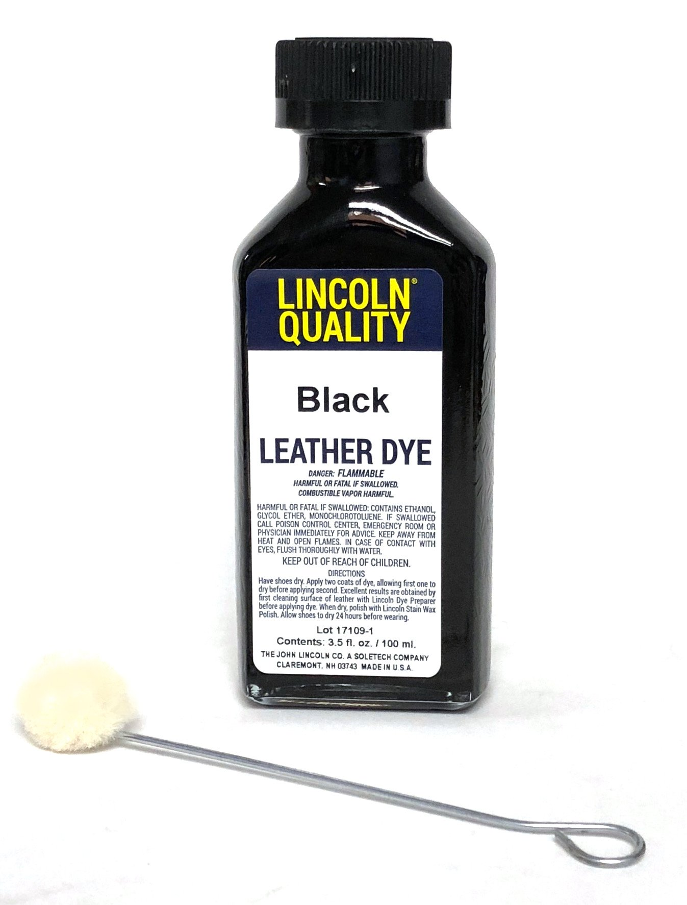 252ae8fcef89ba Get Quotations · Lincoln Leather Dye