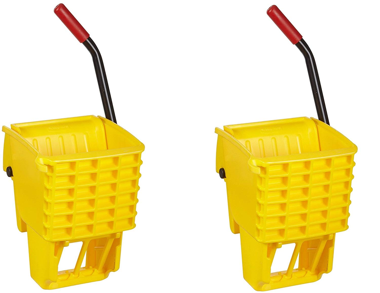 Rubbermaid Commercial FG612788YEL Side-Press Wringer for 13- to 32-ounceWaveBrake Mop Buckets, Yellow (.2 PACK)