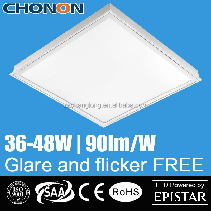 Recessed Dimmable 40w 2x2 Led Ceiling Panel Light With Pmma Opal ...
