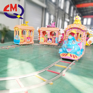 backyard amusement rides electric track train