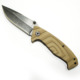 wholesale folding pocket knife with plastic handle made in China
