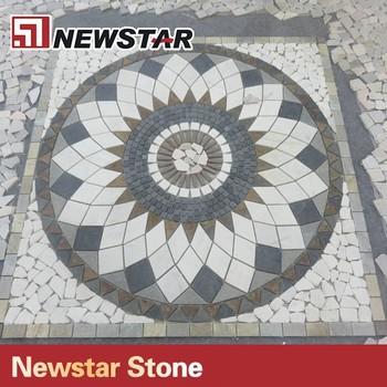 China Mosaik Bodenfliesen Mosaik Sonne Muster Buy Mosaik Sonne