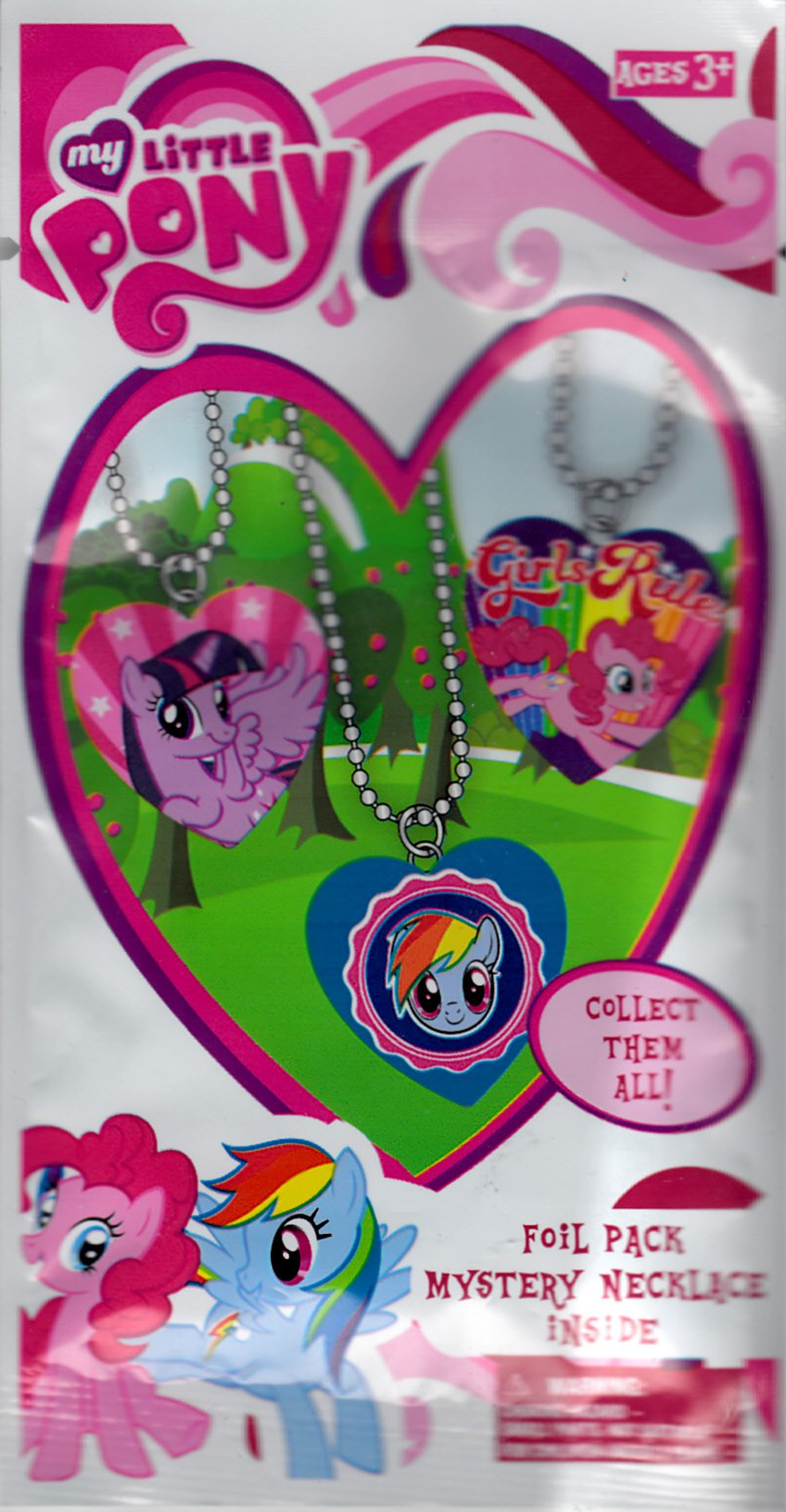My Little Pony Mystery Necklace Blind Foil Pack