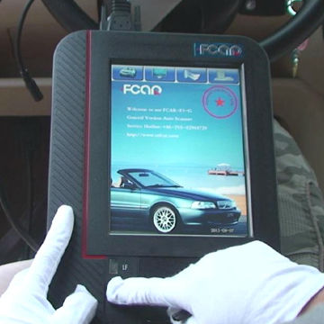 Heavy duty trucks diagnostic scanner