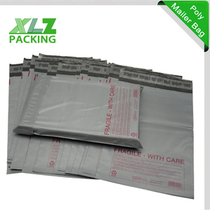Ultralight Self Adhesive Plain Grey Poly Mailers 10x13