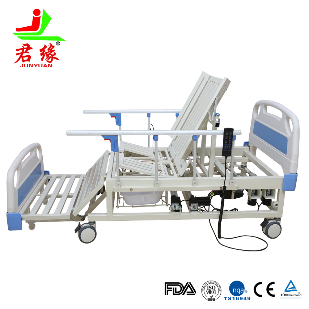 adjustable electric elderly home bed ward nursing equipment
