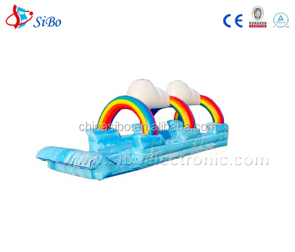 WB0017 SiBo Amusement children outdoor inflatable water game - inflatable airtight dolphin pool