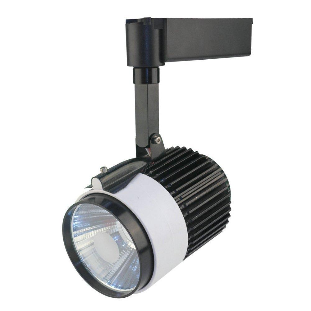 LEDHOLYT 20W COB LED Track Rail Spotlight White Wall Lights for 2 Wires Track Rails