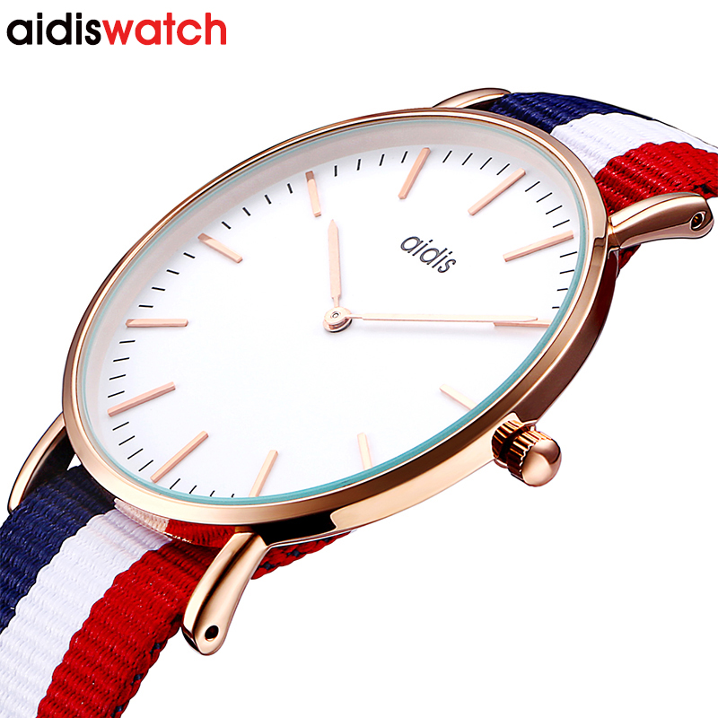 Japan Movt Quartz Watch Stainless Steel Back Dw Style Watch Brand Your Own Women Watches Men Custom Watches
