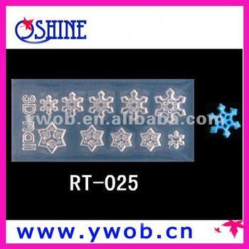 Snow Designs 3d Acrylic Nail Art Molds Buy Snow Designs 3d Acrylic