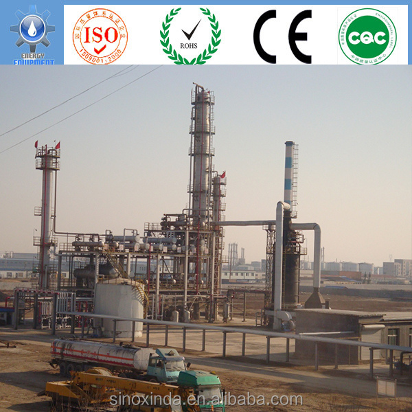 crude refinery process of light crude oil naphtha conversion gasoline