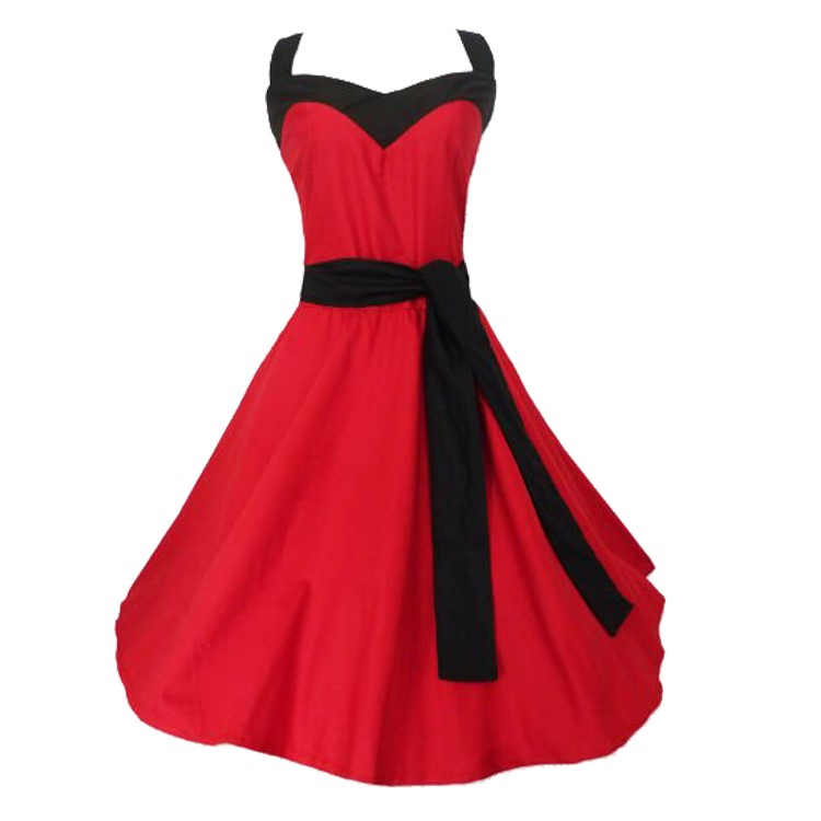 wholesale manufacturer mod clothing custom made <strong>vintage</strong> style fashion red evening <strong>dresses</strong>