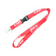 Guangzhou manufacturer design cheap neck strap polyester breakaway lanyards for card or key