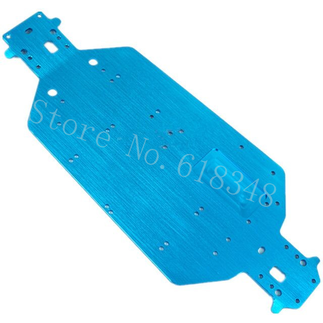 02163 Metallic Blue Chassis RC HSP 1:10 94122 On-Road Car Part Free shipping