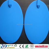 big blue silicone electrode with high carbon diaphragm conductive