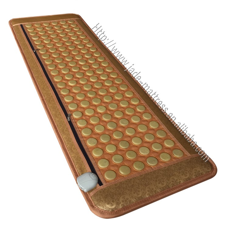 2017 Newest Korea jade mat far infrared magnetic negative ion jade mattress CE APPROVED Nuga Best Price Mat Price