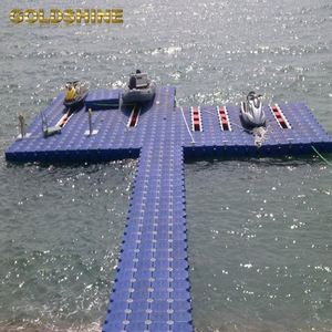 walking Dock Floating Pontoon Platforms modular plastic pontoons