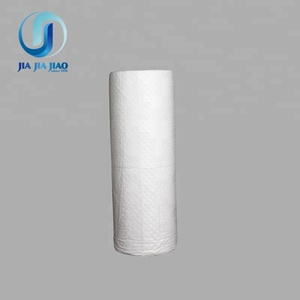100% polypropylene white sonic bonded perforated oil only absorbent rolls