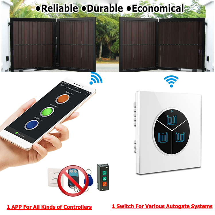Universal Garage Door Opener Remote Control Switch With App Control