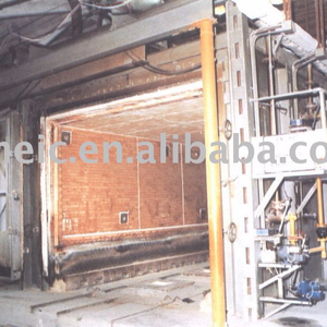 Shuttle kiln for ceramic products