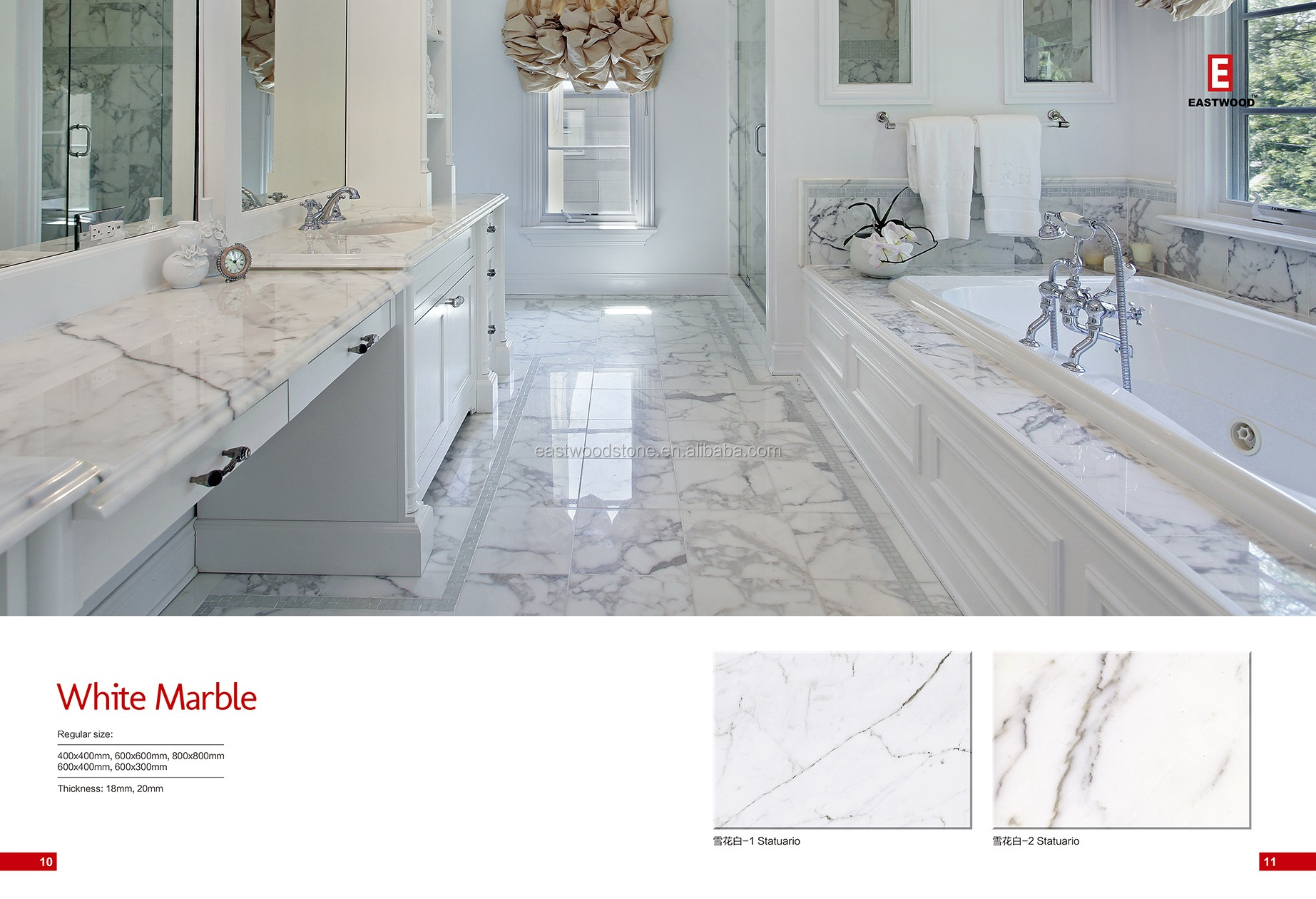 Excellent Italy marble price statuario for decoration