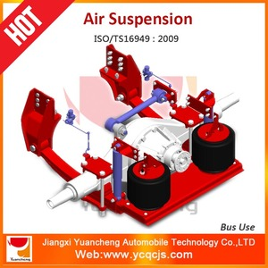 Leaf Spring Air Suspension Bus Rear Air Bag Suspension System