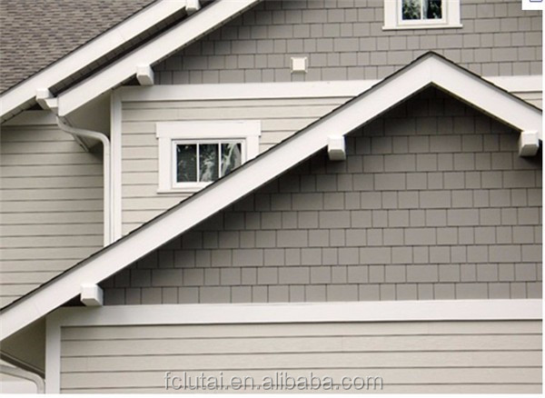 6mm color gray fiber cement siding assessed by CE,ASTM