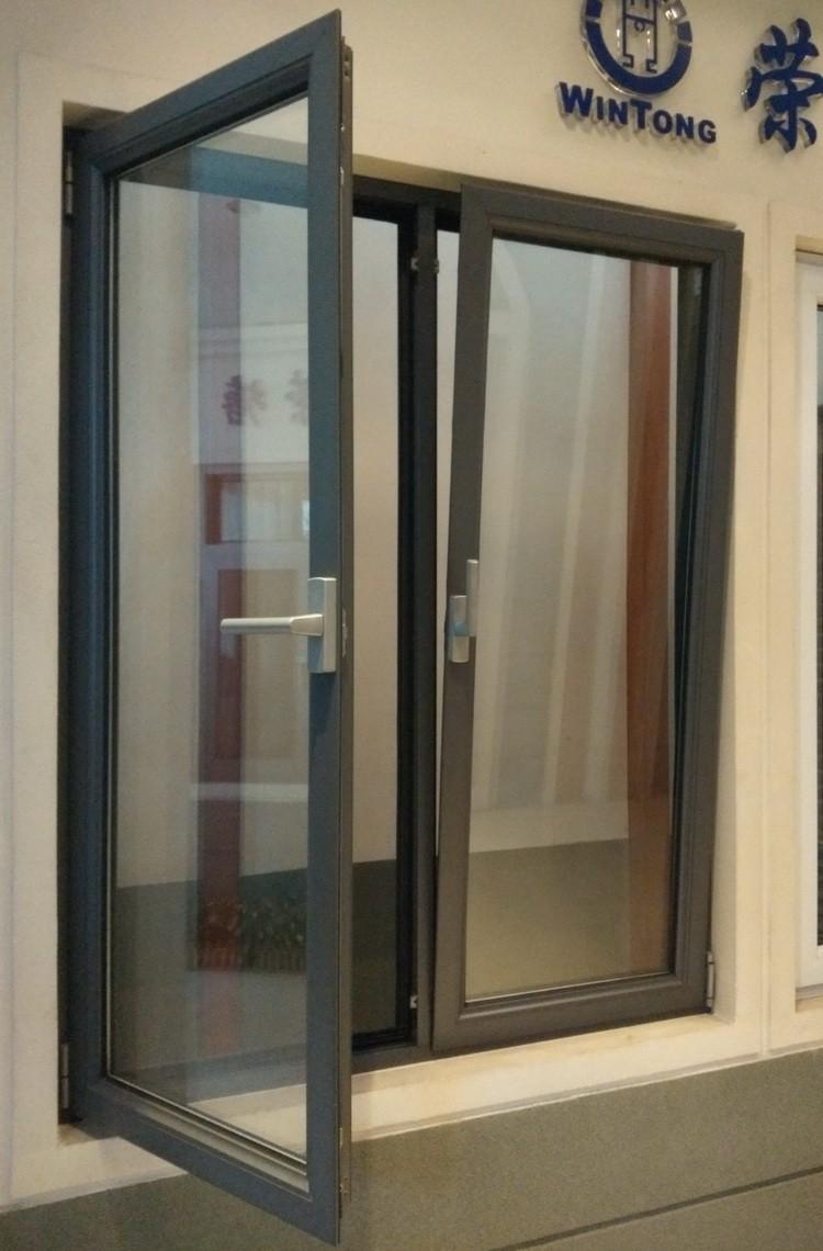 Tilt Turn Casement Window : Home window of aluminium casement tilt and turn