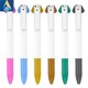 2 colors ballpoint pen promotional advertising cute pen gift in bulk custom logo