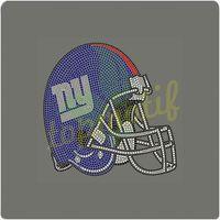 NY Giants football team logo Diamonds For Clothes