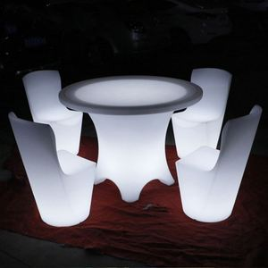 Light up LED chair for outdoor and indoor party furniture