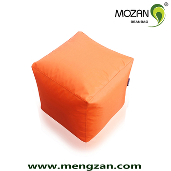Heated Bean Bag Ottoman Cube Beanbag Chair