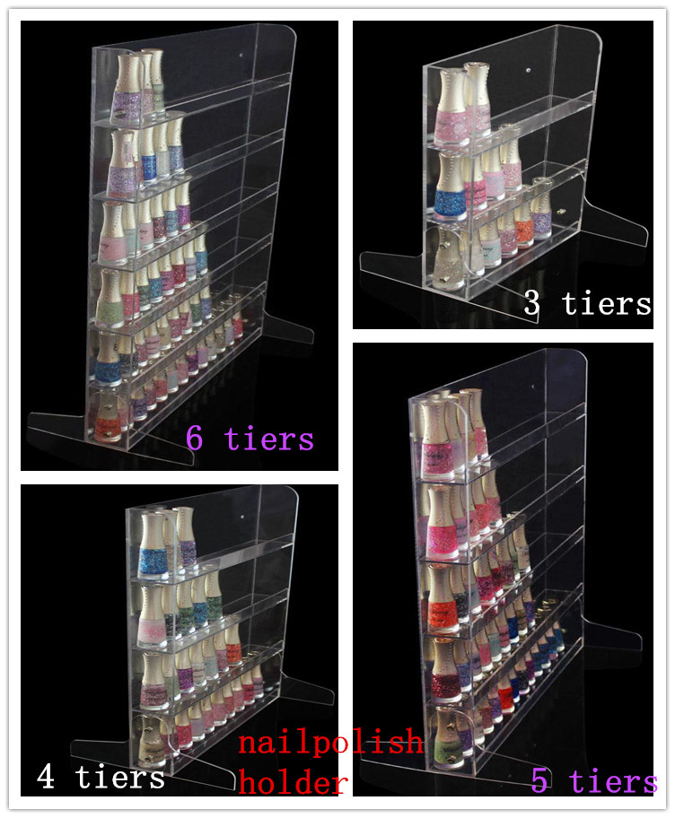 Clear acrylic beauty case cosmetic Cosmetics Showcase