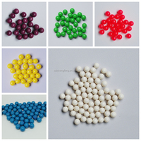 Our company sells 0.68 oil and PEG paintballs/ we can satisfy customer's needs on quality/colors/logo/packing