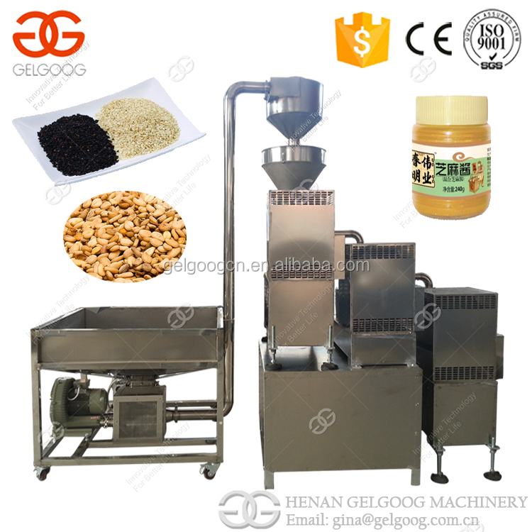 Sesame Cleaning Machine/Sesame Roasting Machine/Sesame Seeds Grinding Machine
