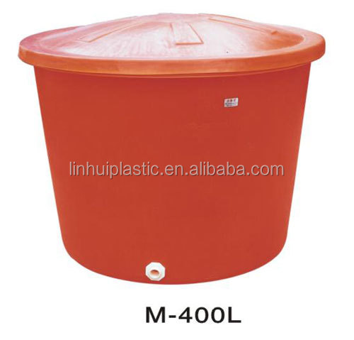 400 litres plastic rainwater collect barrel for storage