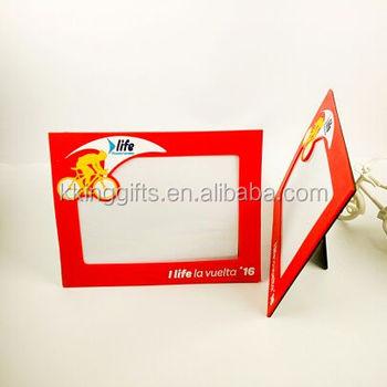 New Year Products Wholesale Custom Soft Pvc Car Photo Frame ...