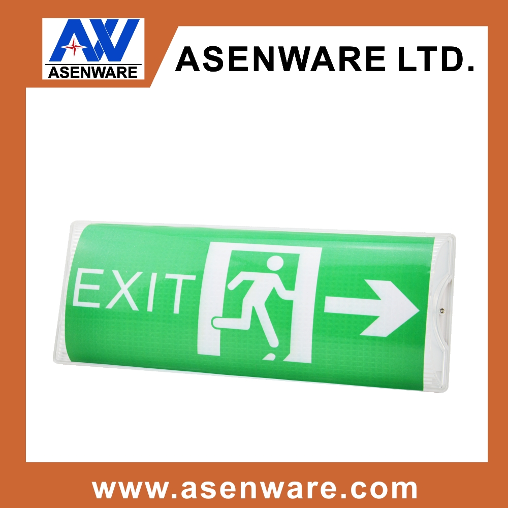 China Ul Emergency Exit Light Sign Wiring Diagram 120v 277v Manufacturers And Suppliers On