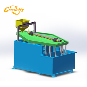 Mini capacity gravity separator factory price gold ore shaking table for sale