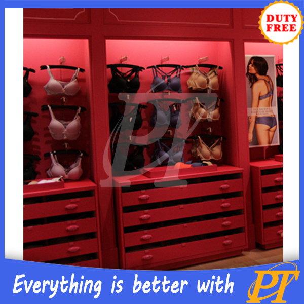 Factory outlet bra display rack,bra display stand for bra store display