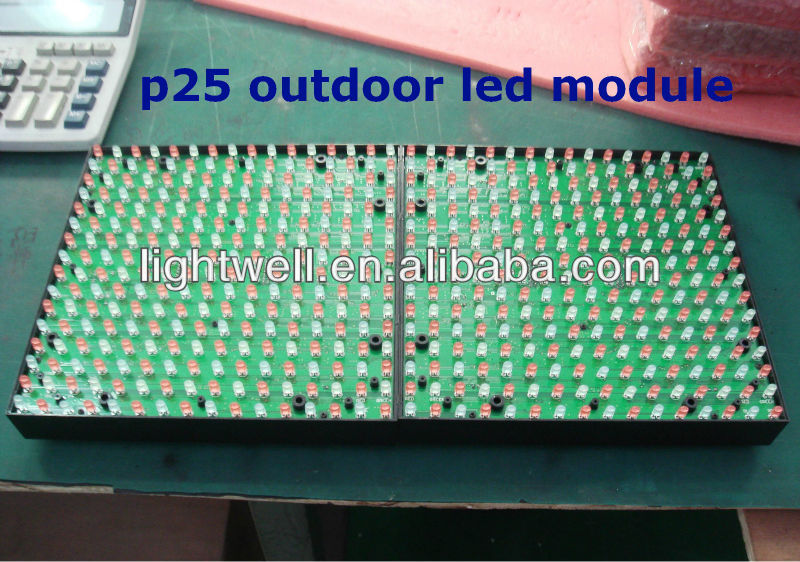 outdoor full color led module P25/ p16 p12 p10 p20 p25 led display module panel