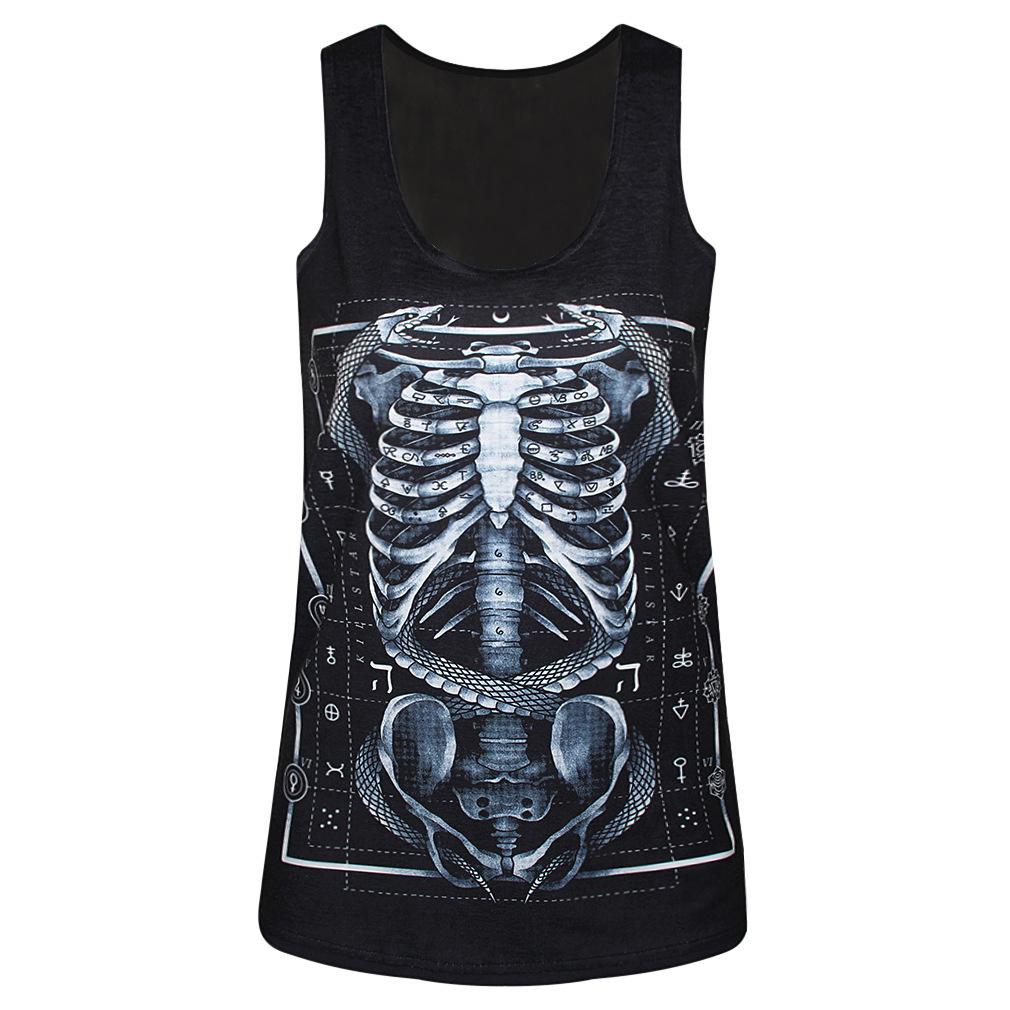 fc7e07748a7a80 Get Quotations · 2015 summer women vest crop tops t-Shirts sexy girls tops  fashion 3d print sleeveless