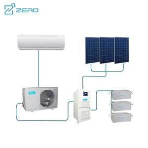 12000BTU 18000BTU 24000BTU DC Inverter 100% Solar Powered System Room Mini Air Conditioner