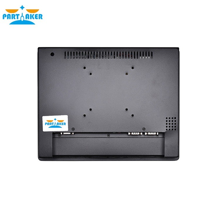 OEM All In One Pc With 2mm Slim Panle 12.1 Inch Intel Atom D2550 Partaker Elite Z7 Made-In-China 4 Wire Resistive Touch Screen