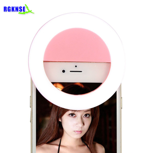 2018 Mini Hot Selling Camera Mobile Phone micro Mini Portable Selfie ring flash Led Light