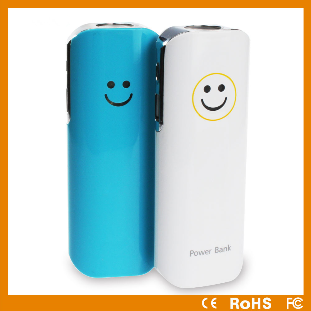 New Design emoji powe rbank 6000mah best high quality portable power supply