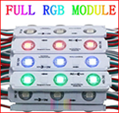Ultrasonic 5050 5054 5630 5730 led module with lens