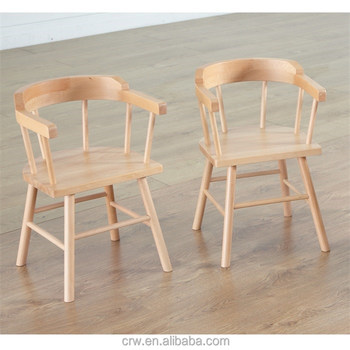 RCH 4114 Small Wooden Captains Chairs For Children