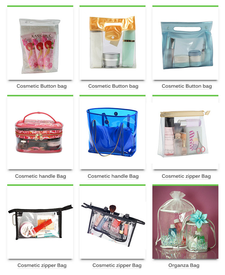 cosmetics packaging bag