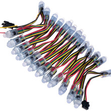 Volle farbe weihnachten dekoration 12mm runde LED <span class=keywords><strong>pixel</strong></span> ucs1903 ws2811 ws2818 led string licht